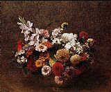 Henri Fantin-Latour Bouquet of Flowers II painting